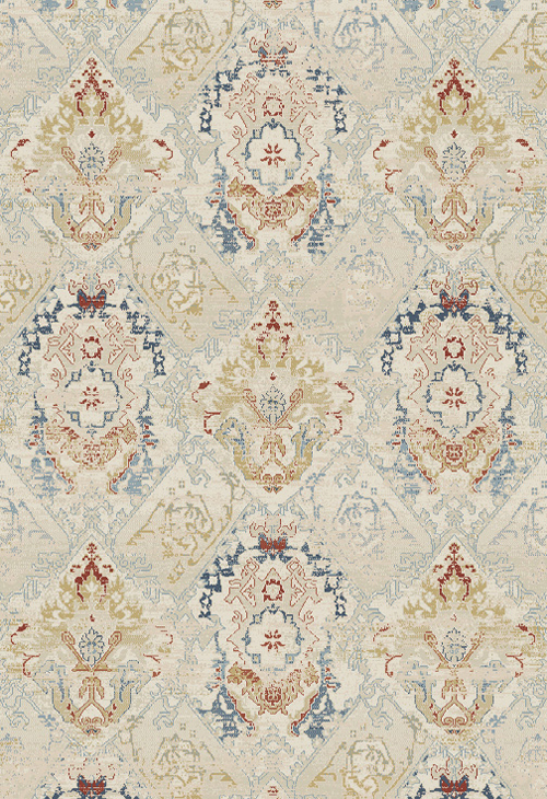 Dynamic ESSENCE 55790 IVORY/MULTI Rug