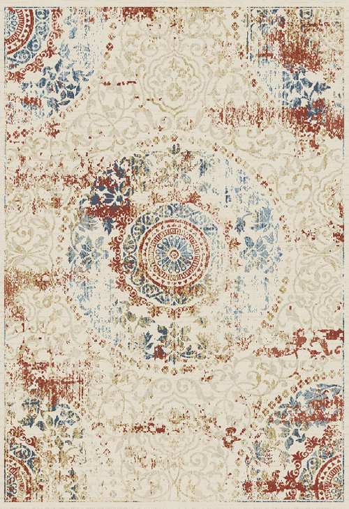 Dynamic ESSENCE 55800 IVORY/MULTI Rug