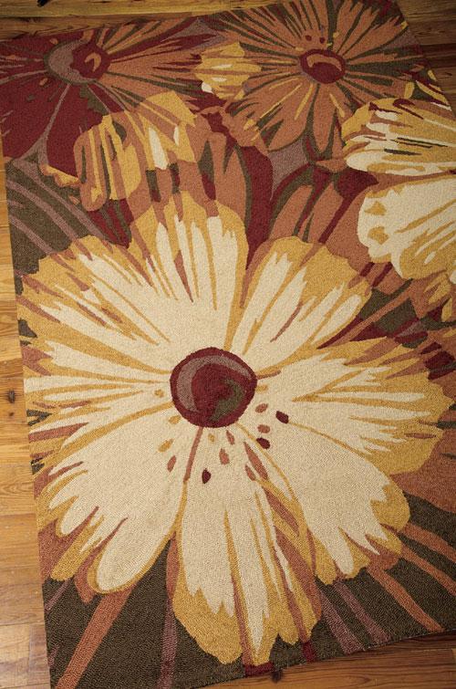 Nourison FANTASY FA19 CAYENNE Detail