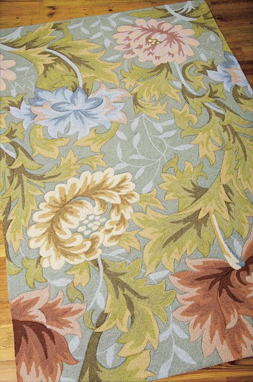 Nourison FANTASY FA22 SLATE Detail