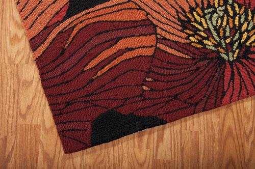 Nourison FANTASY FA24 BLACK Detail