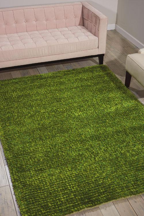 Nourison FANTASIA FAN1 GREEN Detail
