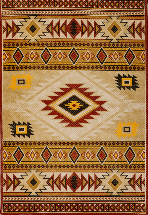 Dynamic FRONTIER 5211 GOLD/BEIGE Rug