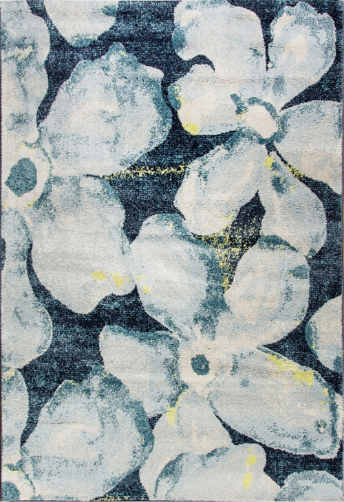Dynamic FUSION 25418 BLUE/GREY Rug