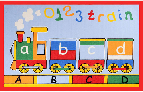Concord Global Fun Time ABC TRAIN MULTI