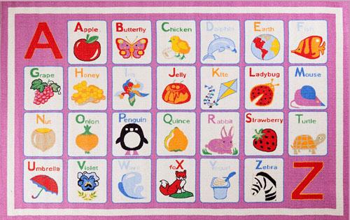 concord global fun time alphabet dreamy