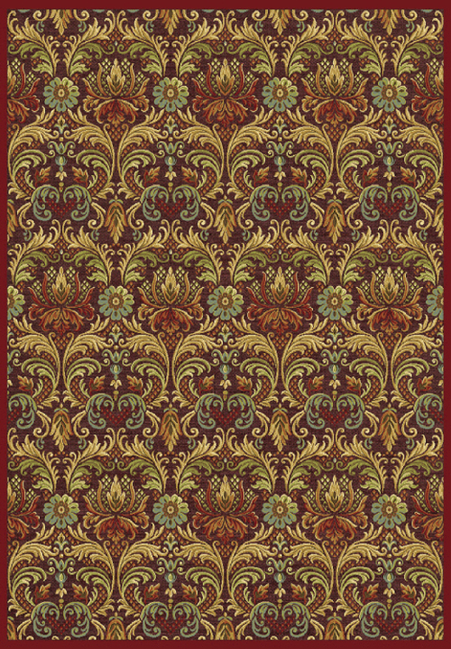 Dynamic GENOVA 38106 RED/MULTI Rug