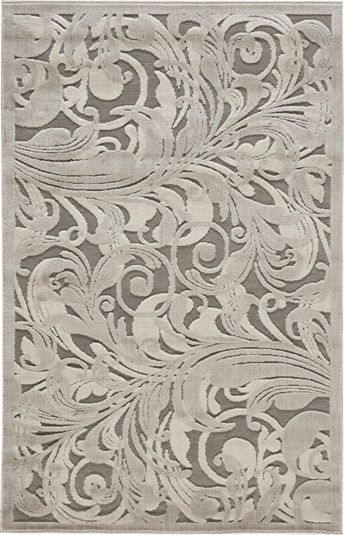 Nourison GRAPHIC ILLUSIONS GIL01 GRY/CAMEL Rug