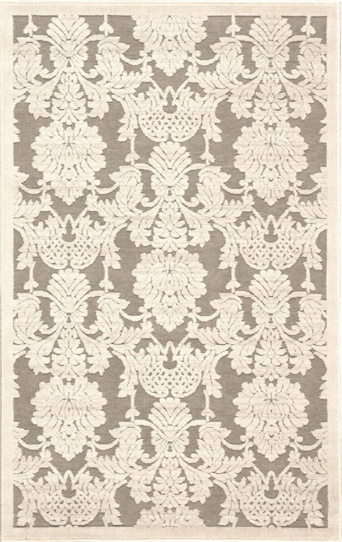 Nourison GRAPHIC ILLUSIONS GIL03 NICKEL Rug