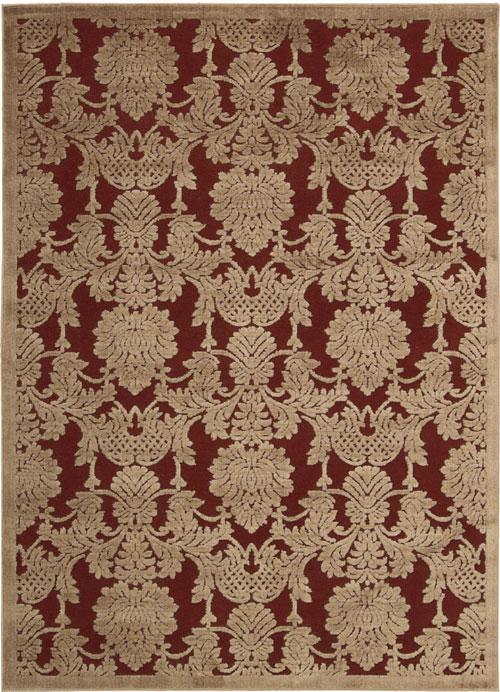 nourison graphic illusions gil03 red