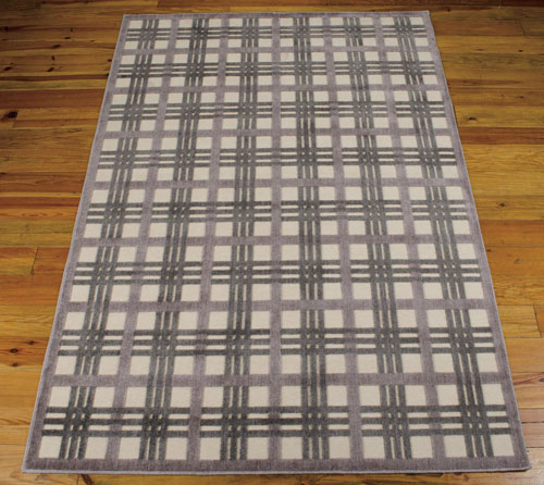 Nourison GRAPHIC ILLUSIONS GIL20 IVORY/TAUPE Detail
