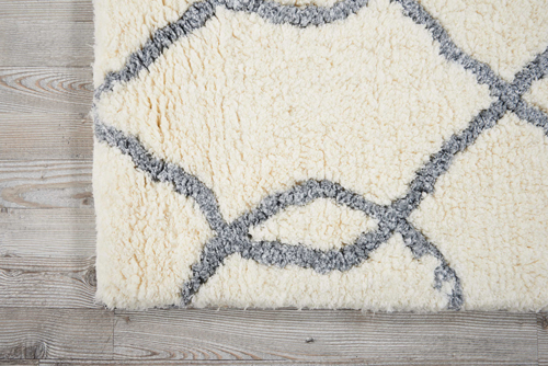Nourison GALWAY GLW02 IVORY BLUE Detail