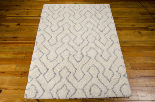 Nourison GALWAY GLW03 IVORY BLUE Detail