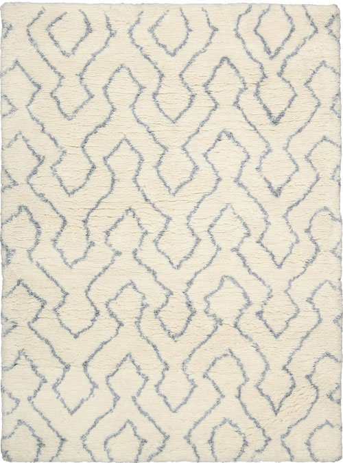 Nourison GALWAY GLW03 IVORY BLUE