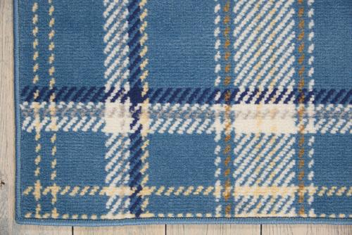 Nourison GRAFIX GRF03 BLUE Detail
