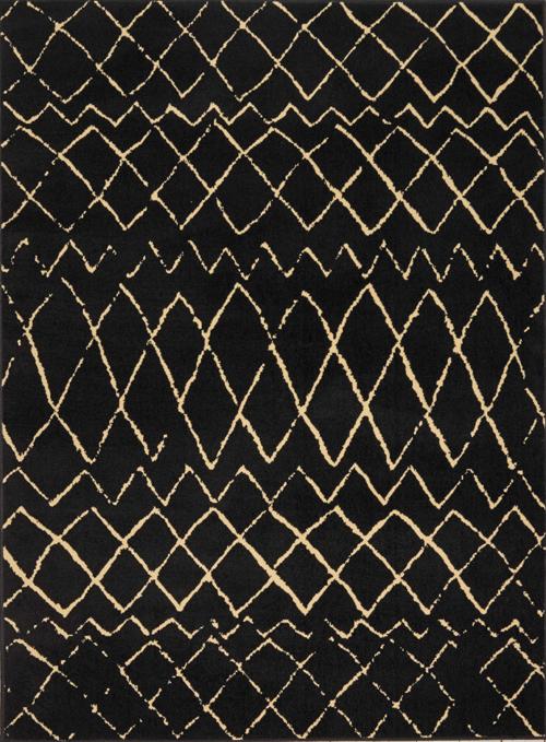 nourison grafix grf04 black