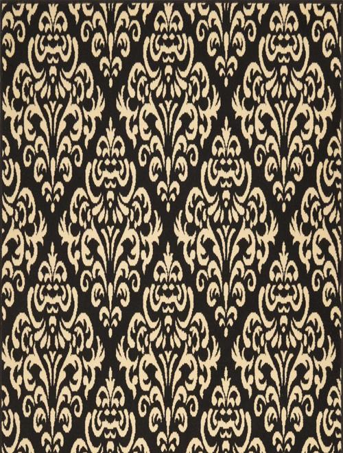 nourison grafix grf06 black