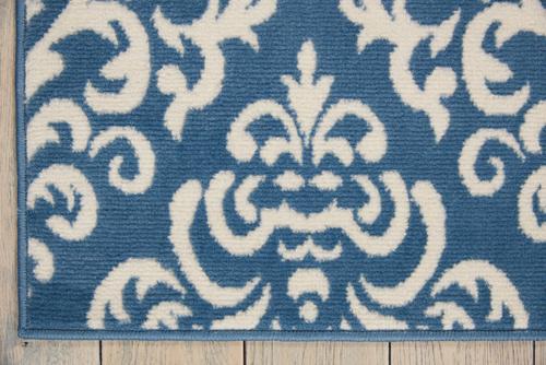 Nourison GRAFIX GRF06 BLUE Detail