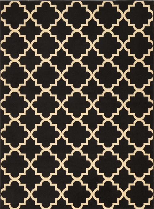 nourison grafix grf08 black