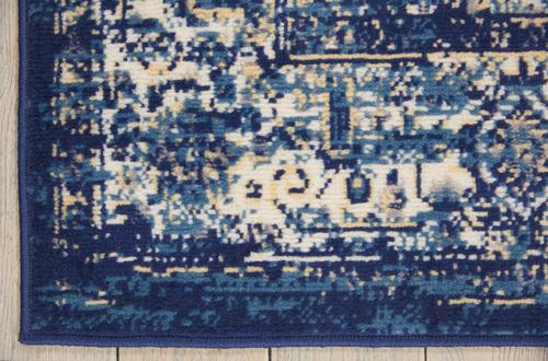 Nourison GRAFIX GRF14 NAVY BLUE Detail