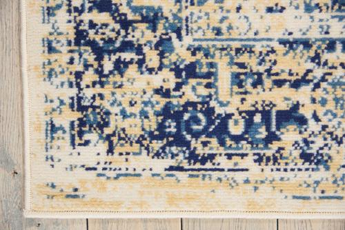 Nourison GRAFIX GRF14 WHITE Detail
