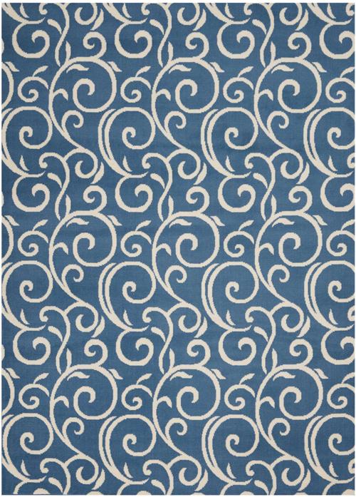 nourison grafix grf19 blue