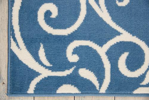 Nourison GRAFIX GRF19 BLUE Detail