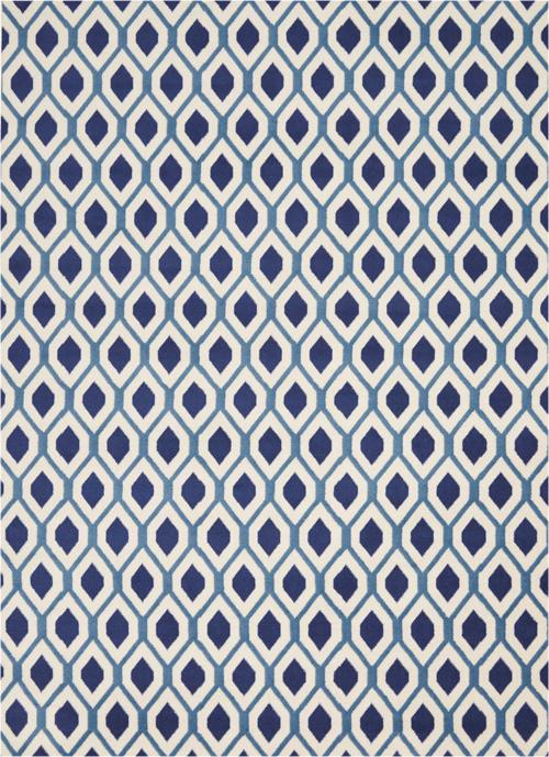 nourison grafix grf22 white/navy