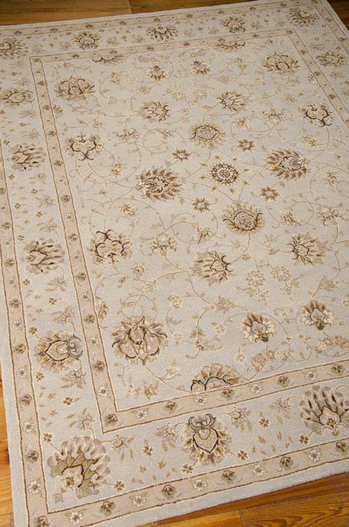 Nourison HERITAGE HALL HE28 LIGHT BLUE Detail
