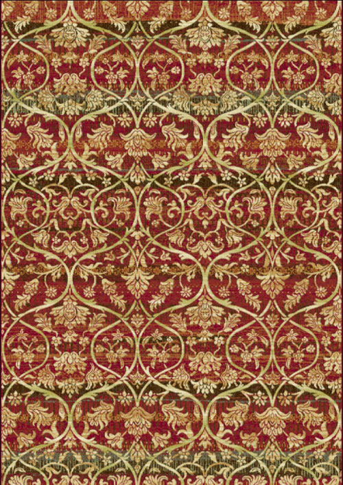 Dynamic HERITAGE 89484 RED/MULTI Rug