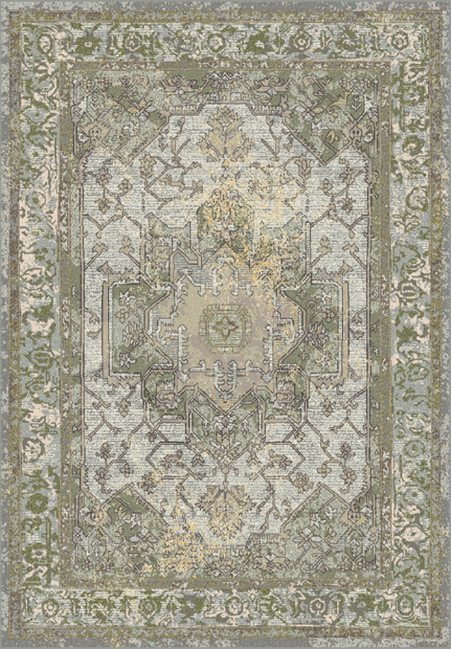 Dynamic HORIZON 988465 GREY/GREEN Rug