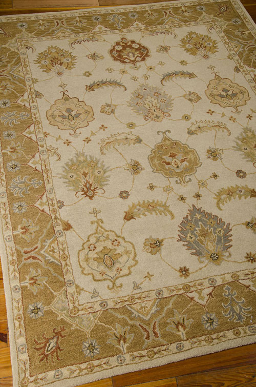 Nourison INDIA HOUSE IH87 IVORY/GOLD Detail