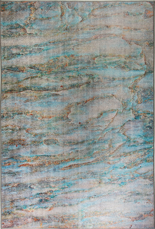 Dynamic ILLUSION 8876 TURQUOISE/MULTI Rug