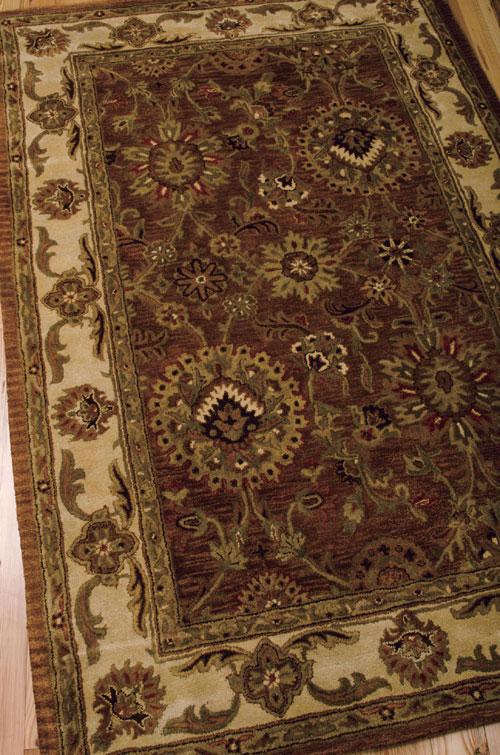 Nourison JAIPUR JA13 RUST Detail
