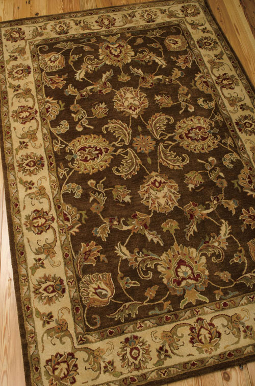 Nourison JAIPUR JA23 BROWN Detail