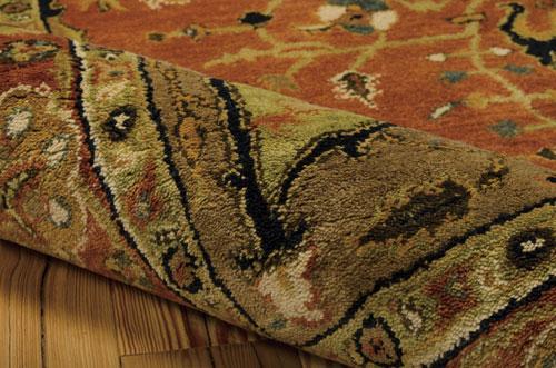 Nourison JAIPUR JA33 BRICK Detail
