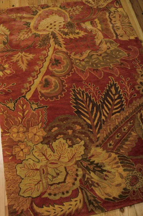 Nourison JAIPUR JA43 FLAME Detail