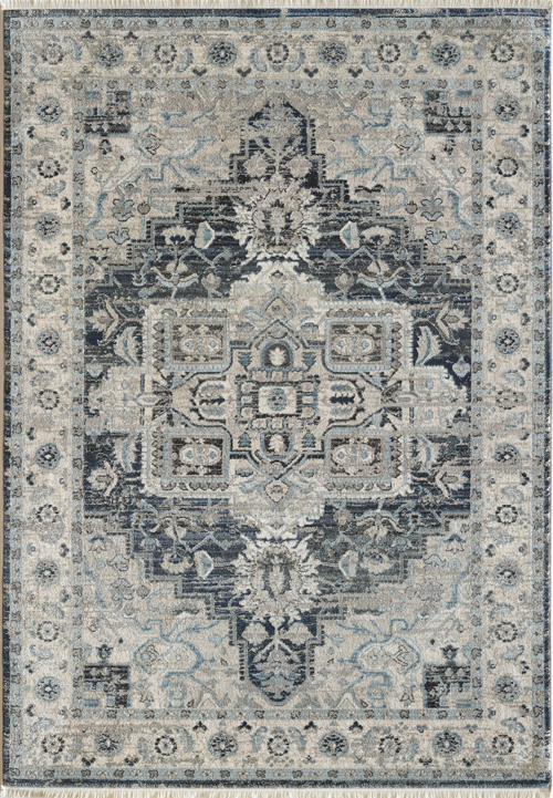 Dynamic JUNO 6882 DARK BLUE/CREAM Rug