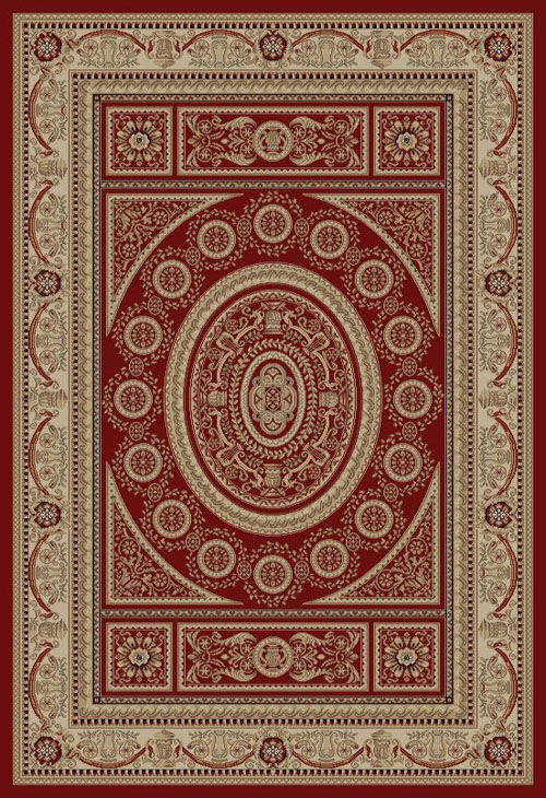 concord global jewel aubusson red