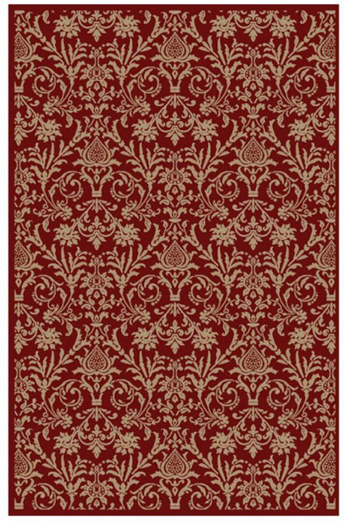 concord global jewel damask red