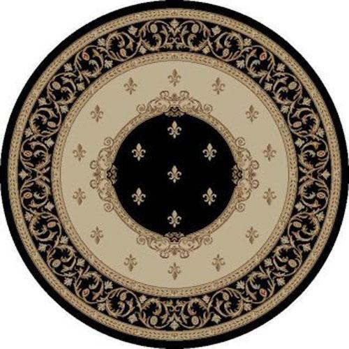 concord global jewel fleur de lys medallion black
