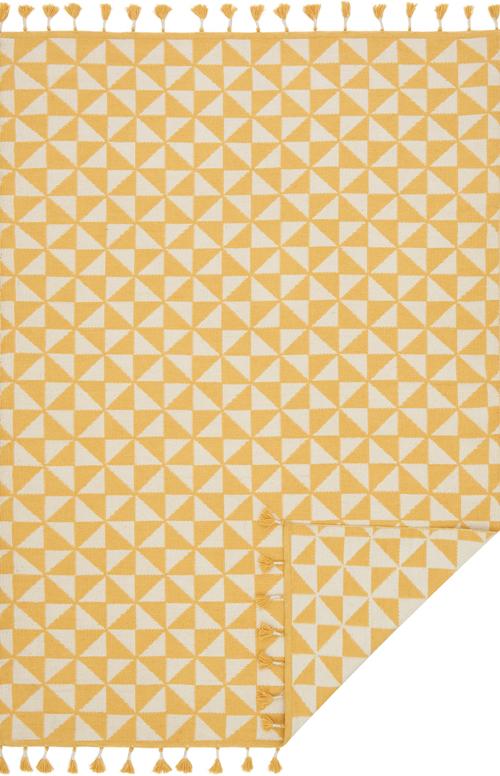 justina blakeney kahelo kh-03 yellow/ivory