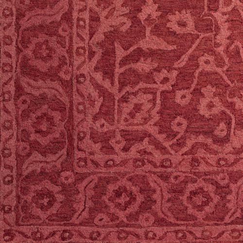 Dalyn Korba KB4 Red Detail
