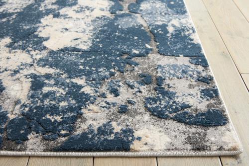 Kathy Ireland KI35 HERITAGE KI355 BEIGE BLUE Detail