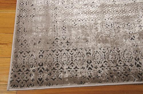 Nourison KARMA KRM01 ASH Detail