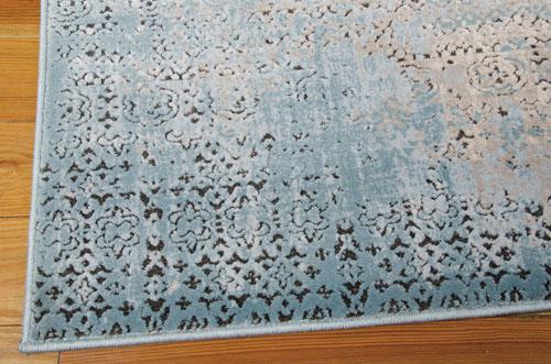 Nourison KARMA KRM01 BLUE Detail