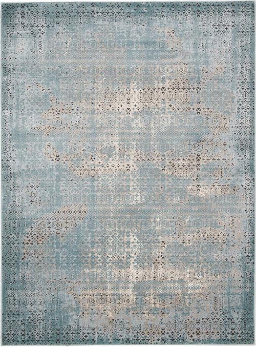 Nourison KARMA KRM01 BLUE Rug