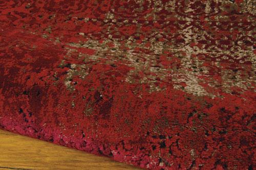 Nourison KARMA KRM01 RED Detail