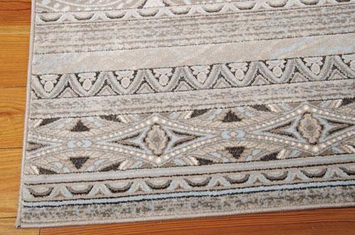 Nourison KARMA KRM03 STONE Detail