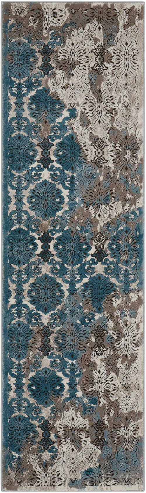 Nourison KARMA KRM05 IVORY BLUE